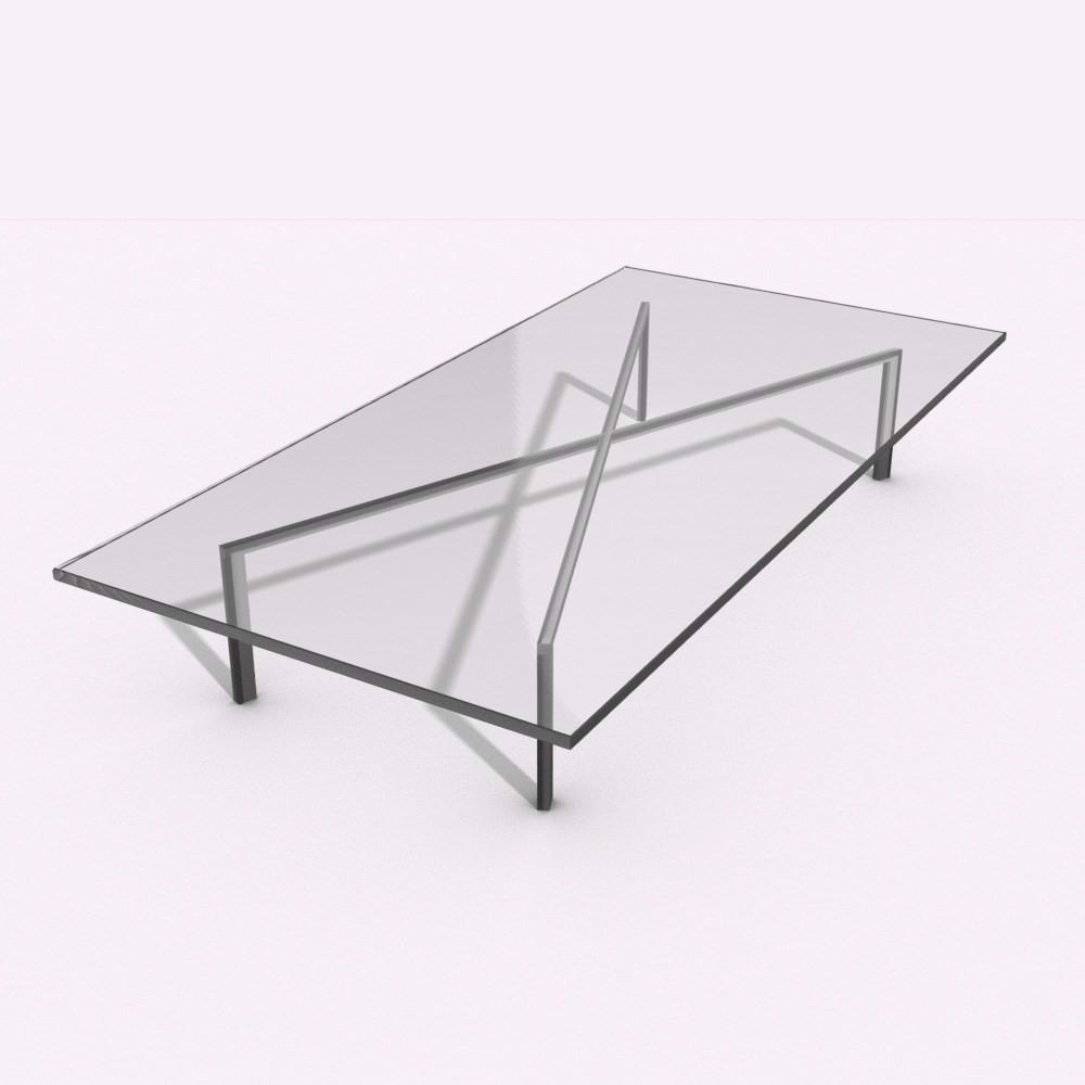 Kendte Glasbordplader i klart glas 10-12-15mm tykkelse TI-69